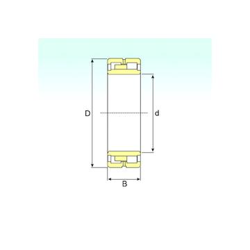 NNU 4924 SPW33 ISB Cylindrical Roller Bearings