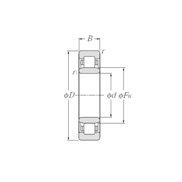 NU1030 NTN Cylindrical Roller Bearings
