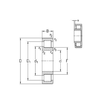 NJ215-E-M6 NKE Cylindrical Roller Bearings