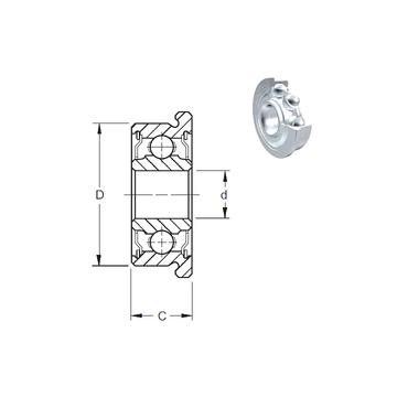 SF688-2ZW4 ZEN Deep Groove Ball Bearings
