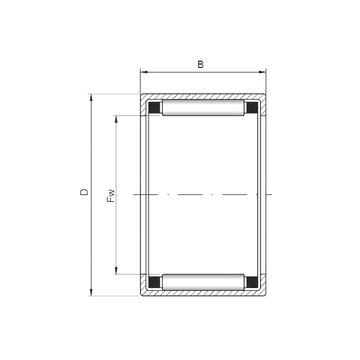 HK2818 ISO Cylindrical Roller Bearings