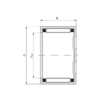 BK142218 ISO Cylindrical Roller Bearings