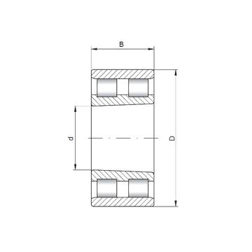 NN3184 K ISO Cylindrical Roller Bearings