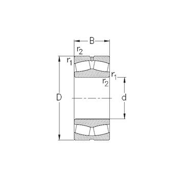 240/560-MB-W33 NKE Spherical Roller Bearings