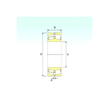 23980 ISB Spherical Roller Bearings