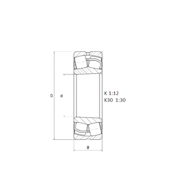 22311EKF800 SNR Spherical Roller Bearings