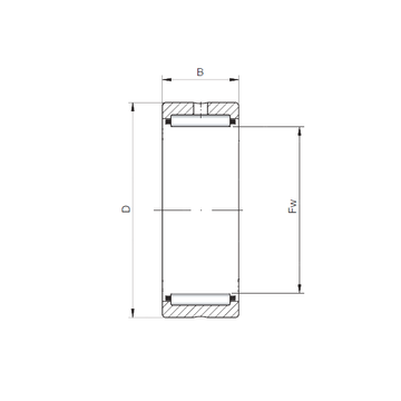 NK42/30  ISO Needle Roller Bearings