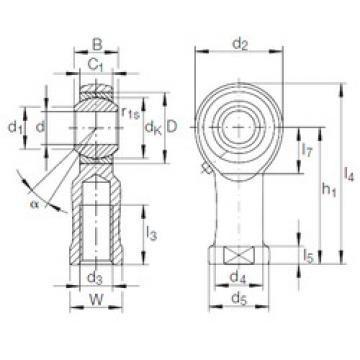 23276 KCW33+AH3276 CX Spherical Roller Bearings