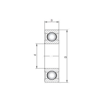 61811 ISO Deep Groove Ball Bearings