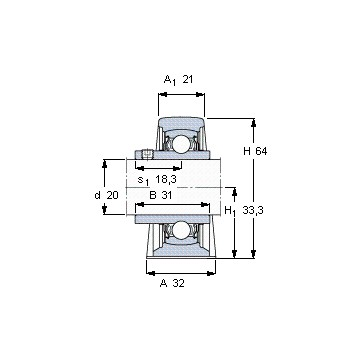 YAR 204-2FW/VA201 SKF Deep Groove Ball Bearings