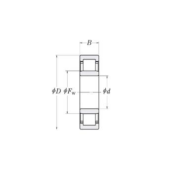 MMRJ1.1/8 RHP Cylindrical Roller Bearings