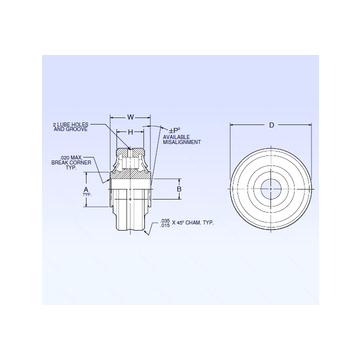 ASR3-1A NMB Spherical Roller Bearings