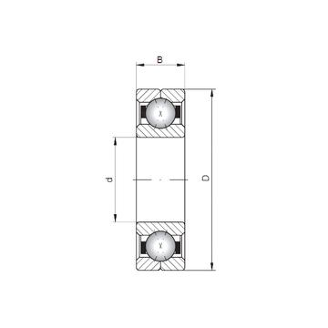 Q332 ISO Angular Contact Ball Bearings