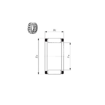 KT 121710 EG  IKO Needle Roller Bearings