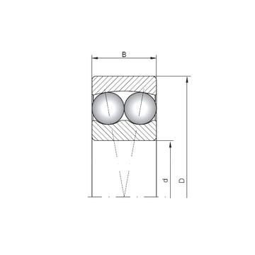 1302 ISO Self Aligning Ball Bearings