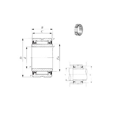 NA 4920UU  IKO Needle Roller Bearings