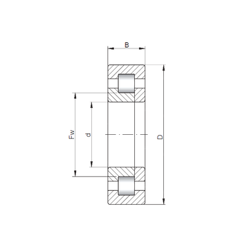 NUP414 ISO Cylindrical Roller Bearings