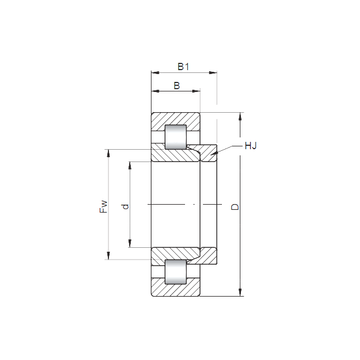 NH2326 E CX Cylindrical Roller Bearings