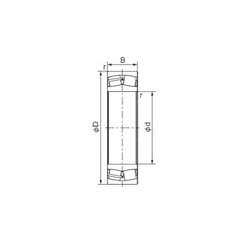 21320EX1 NACHI Cylindrical Roller Bearings