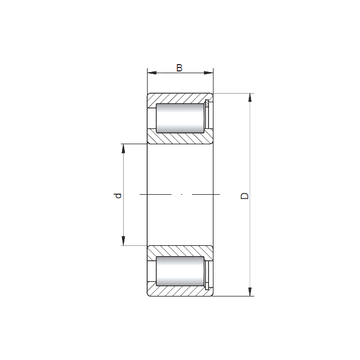 NCF2996 V CX Cylindrical Roller Bearings