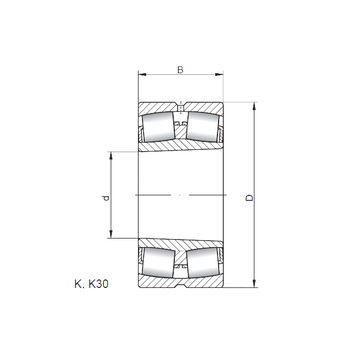 22316 KCW33 CX Spherical Roller Bearings