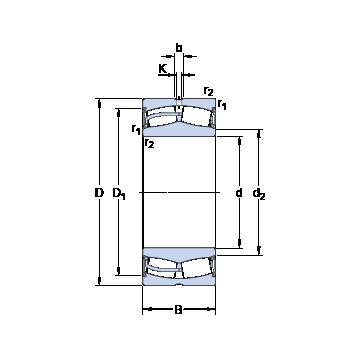 24028-2CS5/VT143 SKF Spherical Roller Bearings