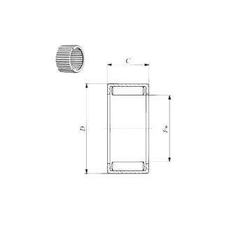 7E-HVS50X62X12  NTN Needle Roller Bearings