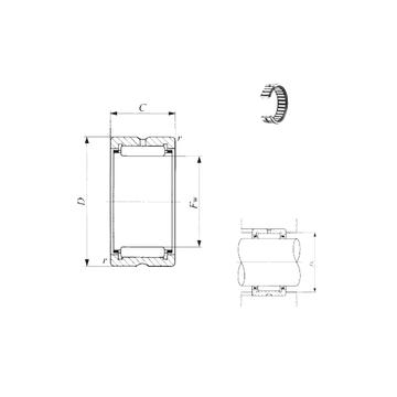 TAF 51012  IKO Needle Roller Bearings
