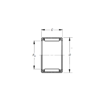 JH-1112  Timken Needle Roller Bearings