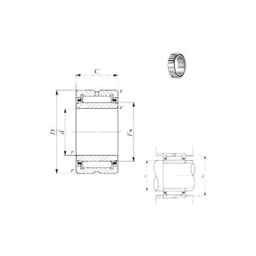 TAFI 405530  IKO Needle Roller Bearings