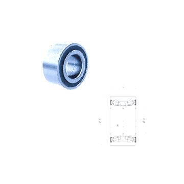 PW39/41750037CS PFI Angular Contact Ball Bearings