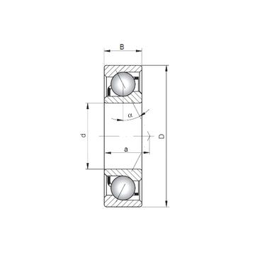 7018 A CX Angular Contact Ball Bearings