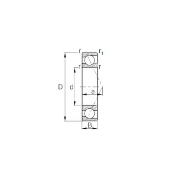7310B KBC Angular Contact Ball Bearings