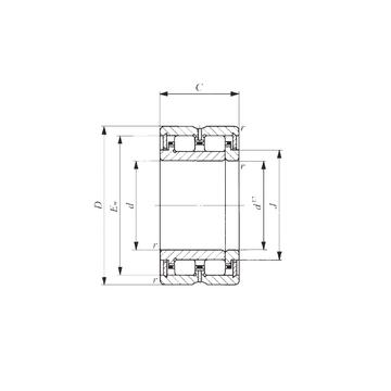TRU 304830 IKO Cylindrical Roller Bearings