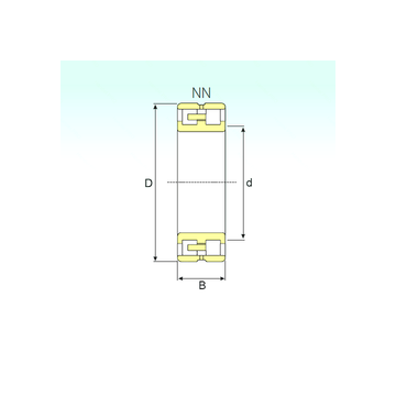 NN 3068 K/SPW33 ISB Cylindrical Roller Bearings