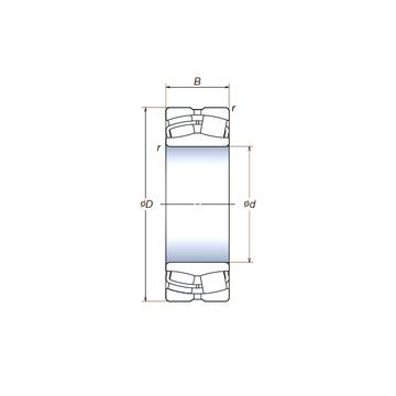 24144SWRCg2E4 NSK Spherical Roller Bearings