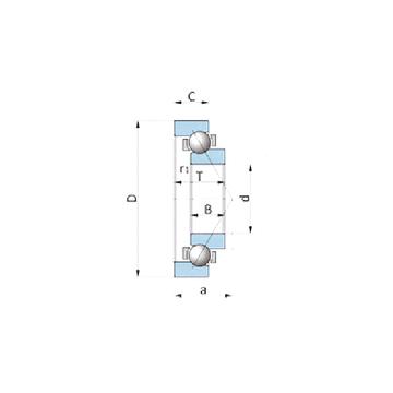 BA280-2WSA NSK Angular Contact Ball Bearings