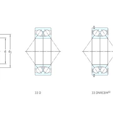 3211ATN9 SKF Angular Contact Ball Bearings