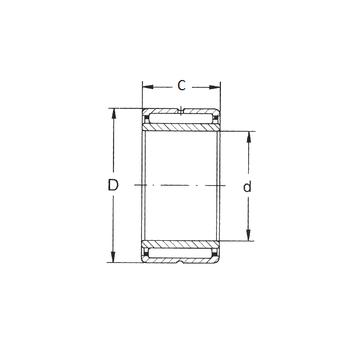 NKI 38/30  FBJ Needle Roller Bearings