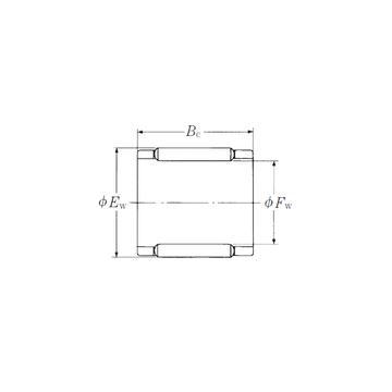 FBN-101412Z-E  NSK Needle Roller Bearings