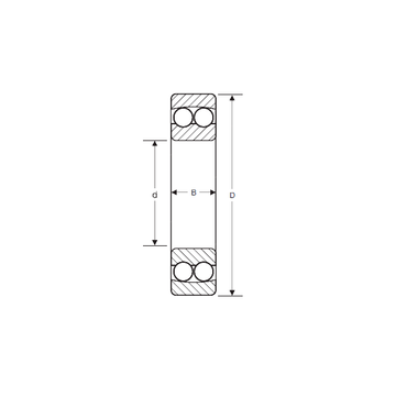 1409 M SIGMA Self Aligning Ball Bearings #1 image